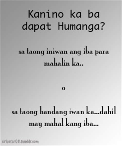 Love Quotes Questions Answers Tagalog Hover Me