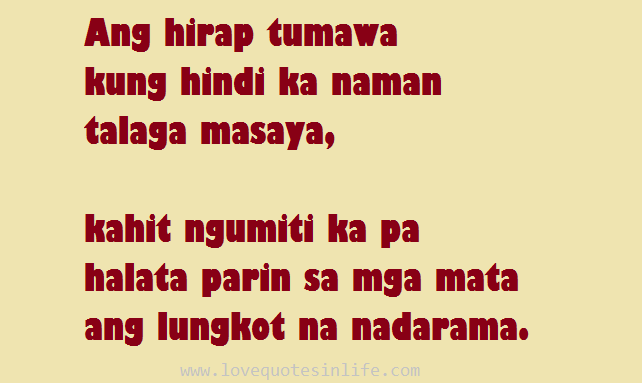 Love Quotes Hugot