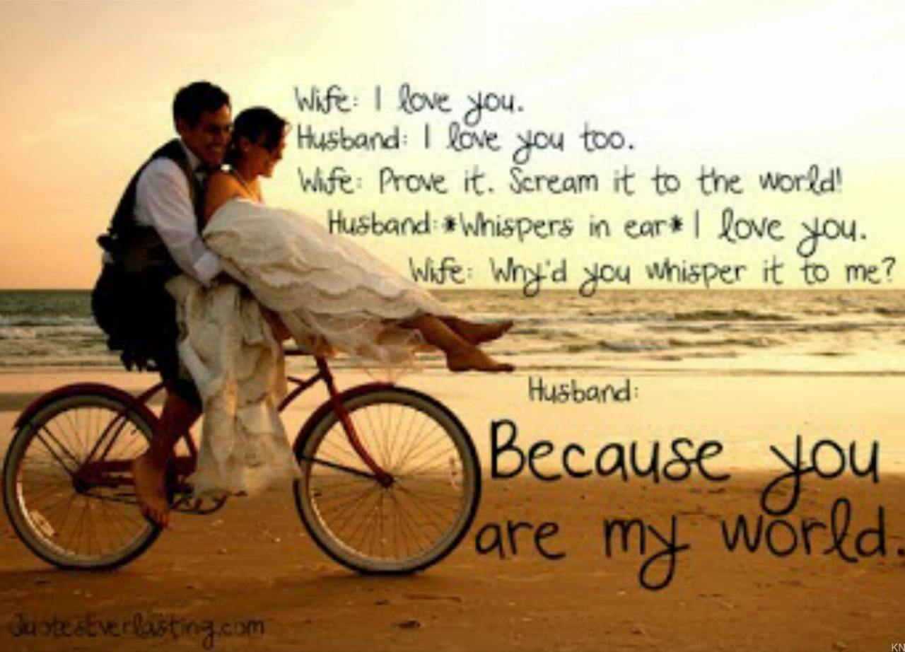 Love Quotes For Wife From Husband Husband And Wife I Love You Quotes Husband And Wife