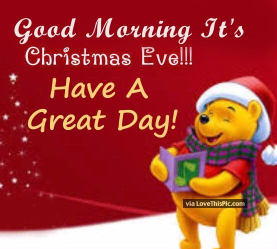 Good Morning Christmas Eve Quote
