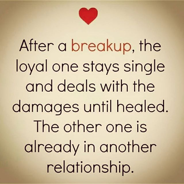 After A Breakup