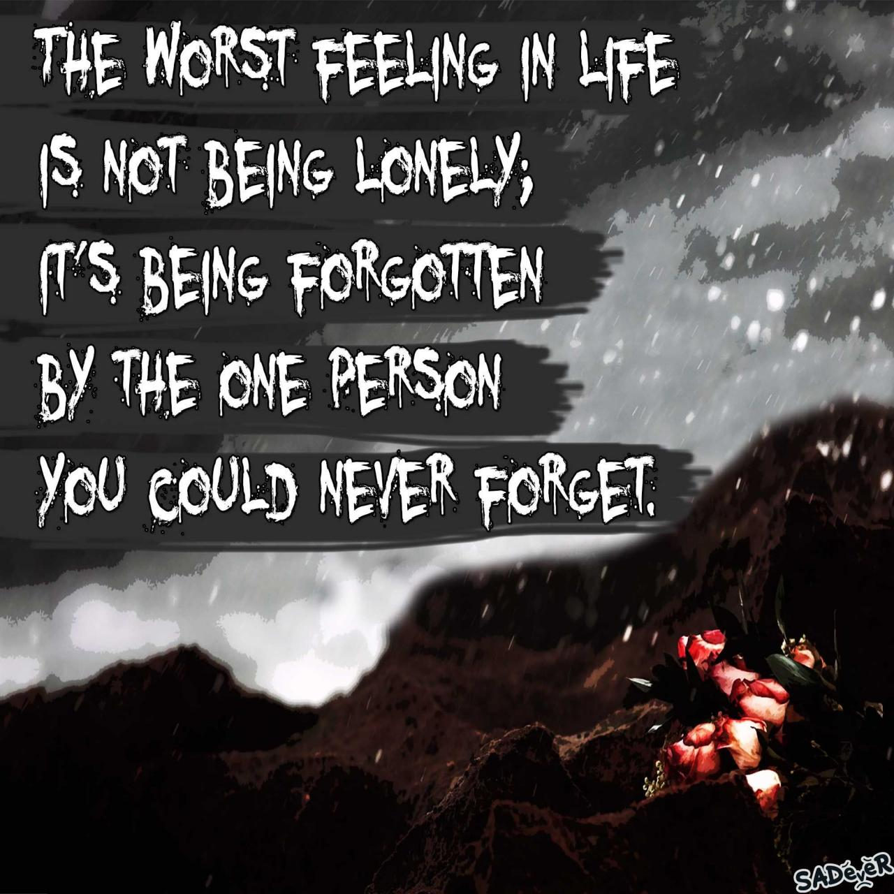Sad Love Quotes With Images For Him Or Her Sadever