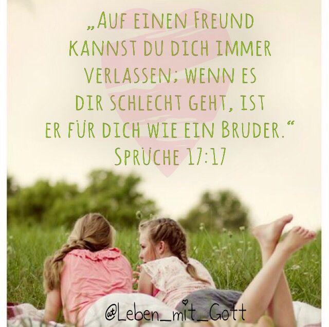 Freundschaft Bibelvers