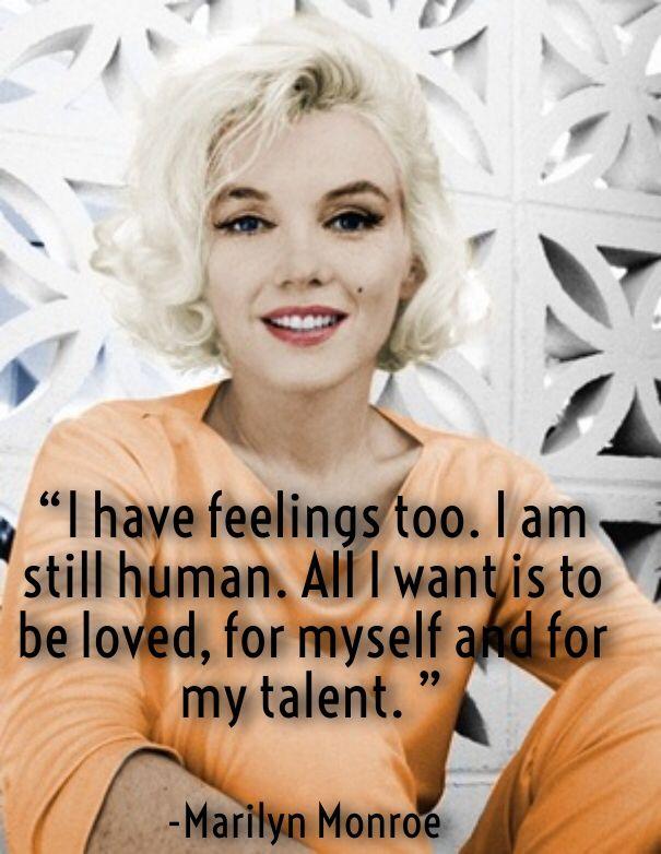 Marilyn Monroe Sayings About Love