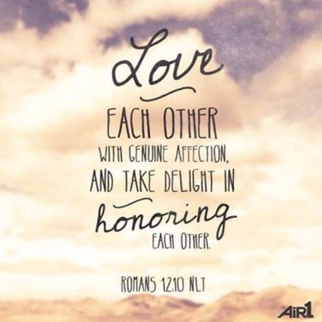 Let Love Be Genuine  C B Bible Verses