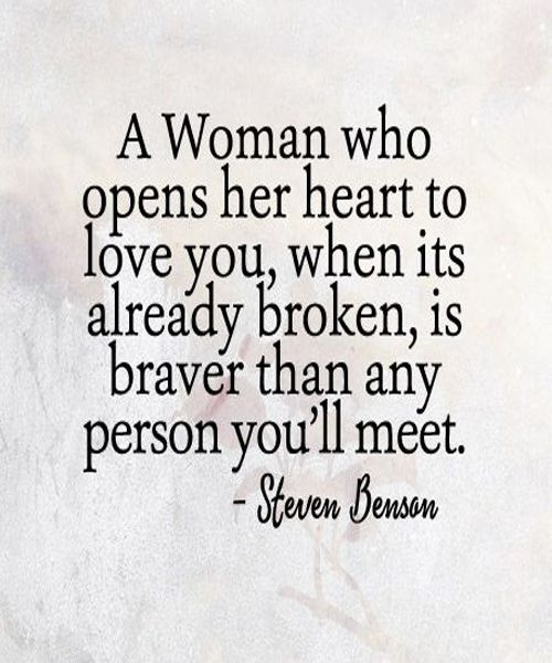 Open Her Hearts To Love You Love Quotes