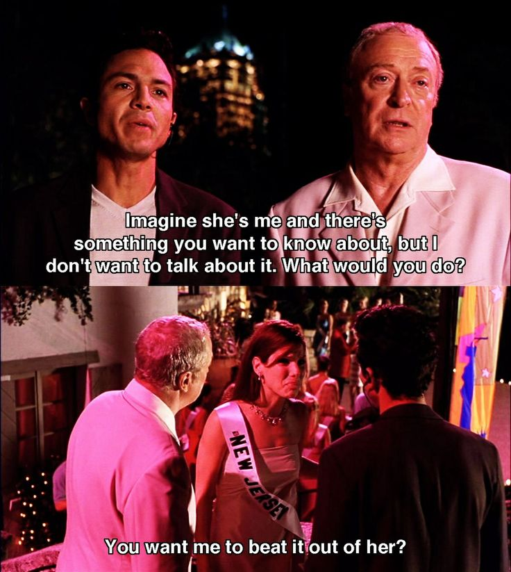 Bak Bu O Favorite Line Of My Favorite Movie Miss Congeniality Movie Quotes