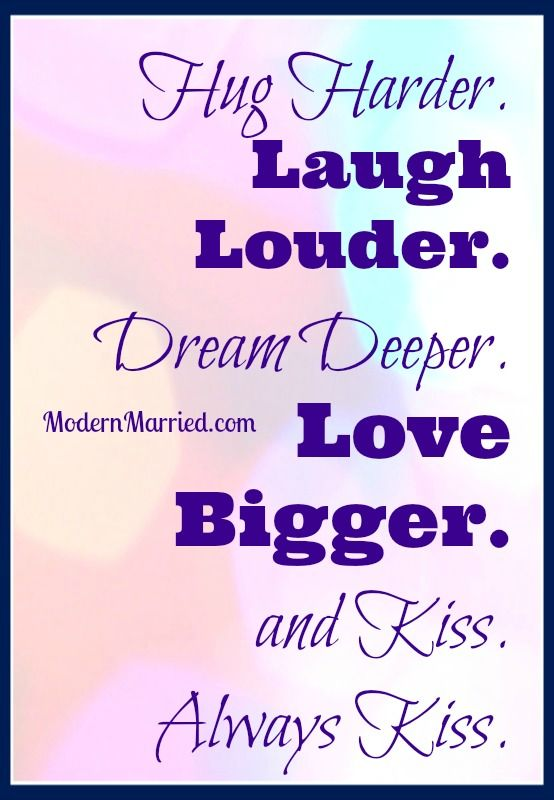 Laugh Louder Love Bigger And Kiss Maggie Reyes Marriage