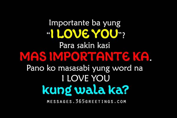 Tagalog Love Quotes For Him Greetings Com