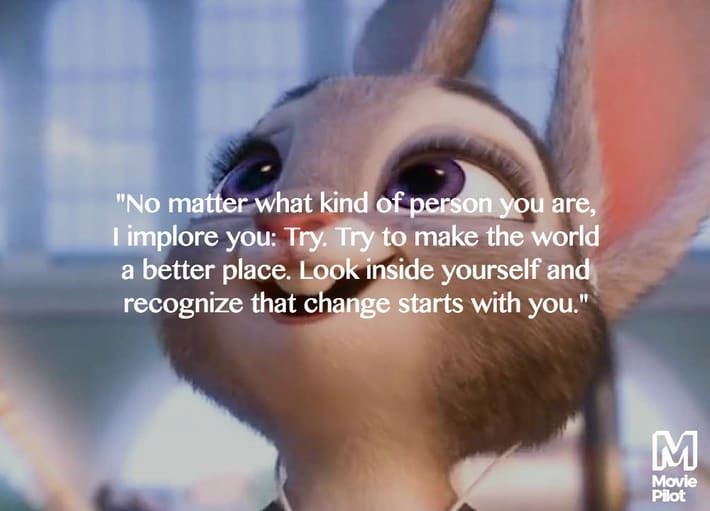 Disneyzootopia Packs A Lot Of Inspirational Quotes That We Can All Use In Life