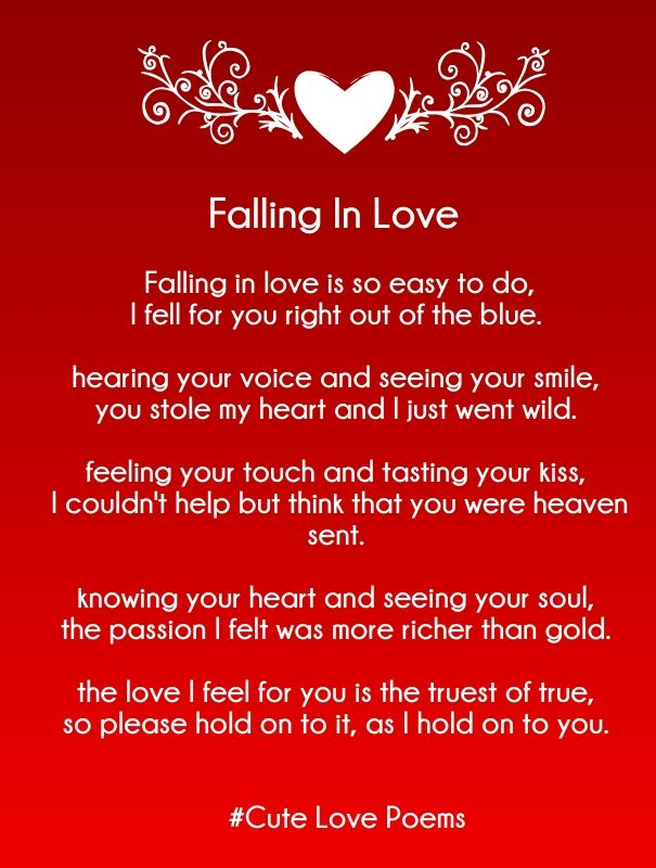 Love Quotes For Her Love Rhyming Poems For Her