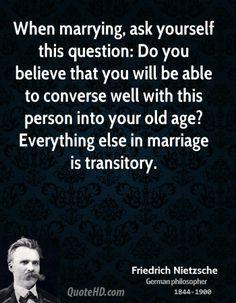 Friedrich Nietzsche Quotes On Marriage Quotesgram