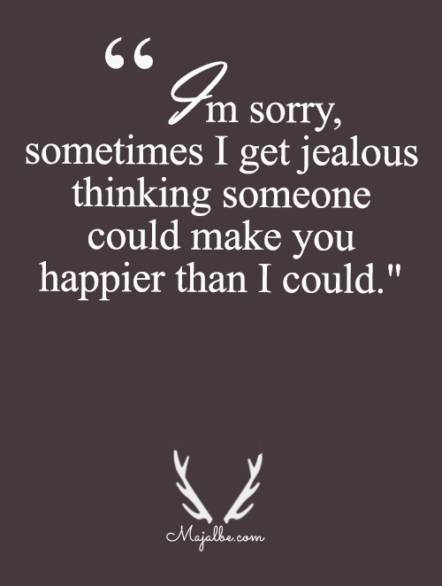 Jealousy Love Quotes