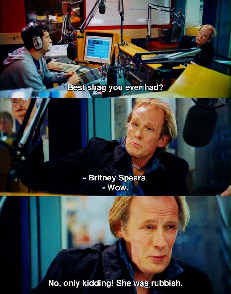 She Was Rubbish Love Actually Movie Quotes I Love Bill Nighy So Much Its Unreal