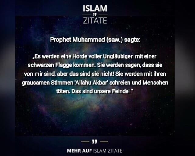Doch Laut Dem Islamwissenschaftler Abbas Poya Von Der Universitat Zurich Ist Es Gefalscht Denn Von Den Aktuellen Ereignissen Konnte Mohammed Damals Noch