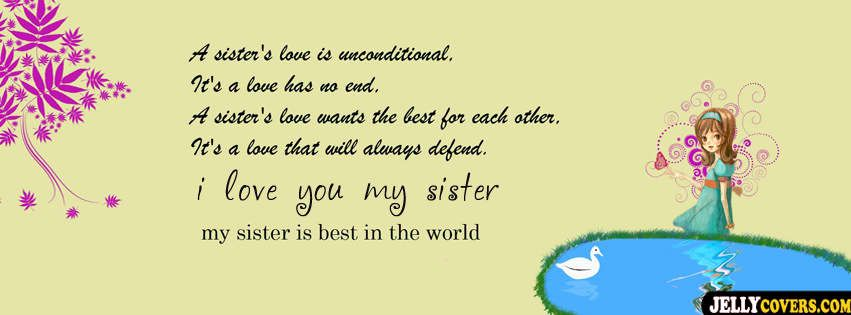 I Love Quotes For Sisters