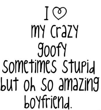 I Love My Crazy Goofy Sometimes Stupid Quotes