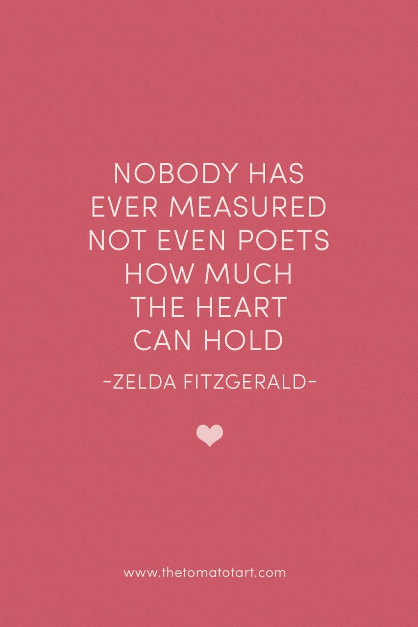 Zelda Fitzgerald On Love For Quotable Fridays Nablopomo The Tomato Tart