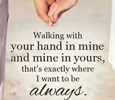 Relationship Is So Important Walking Together Hand In Hand With In A Wonderful Marriage Pinterest Relationships