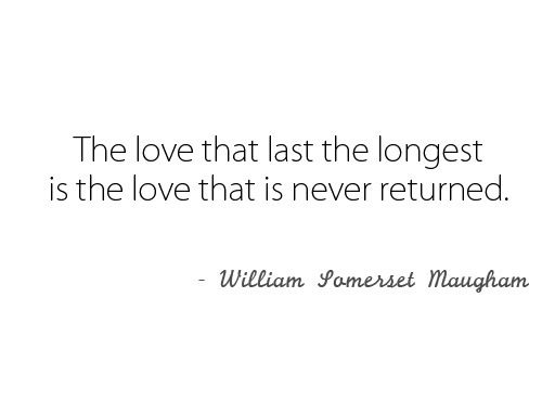 Unrequited Love Quote
