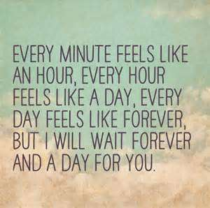 Long Distance Relationship Quote Image Every Minute Feels Like An