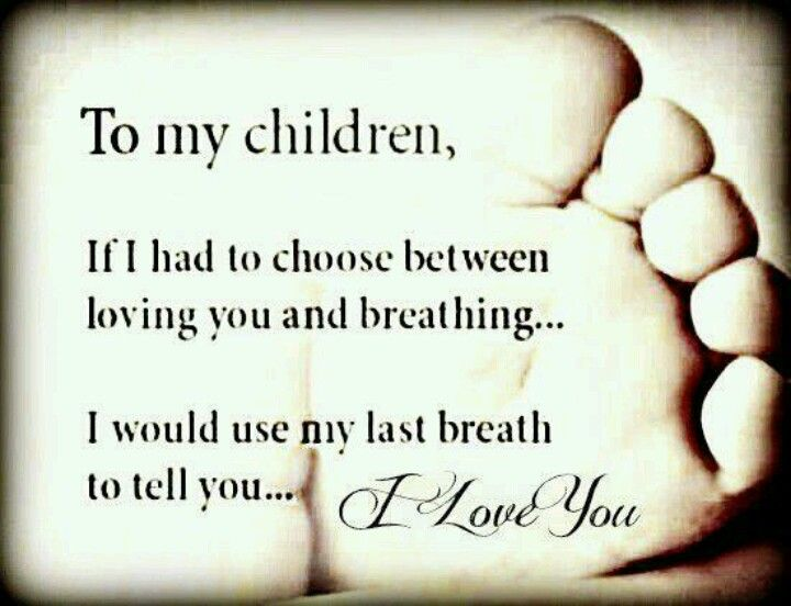 I Will Continue To Say I Love You To My Kids While I Am Alive So They Will Know I Have Loved Them Always I Love My Children Dearly And Miss Them