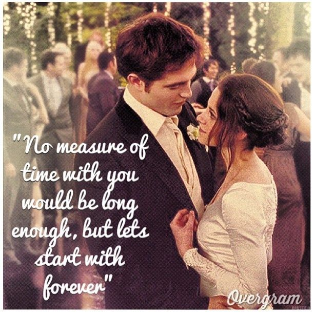 No Measure Of Time With You Would Be Long Enough But Lets Start With Forever