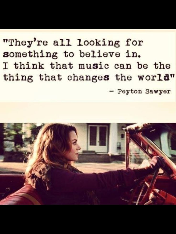 One Tree Hill Quotes Peyton Sawyer
