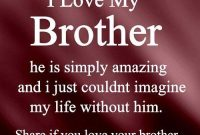 I Love My Brother Quotes For Forget To Join With Our