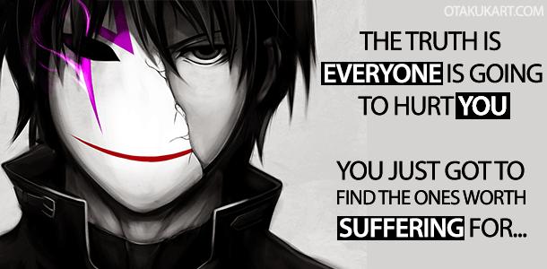 Anime Quotes Broken