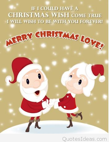 Christmas Quotes About Love Cartoon Merry Christmas Fun