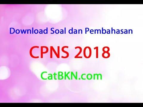 Contoh Soal Cpns 2018 Download Soal Cpns Gratis Dan