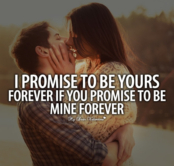 Love Quotes With Couple Kissing Hover Me