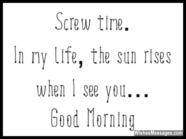 Cute Good Morning Quote Funny Message