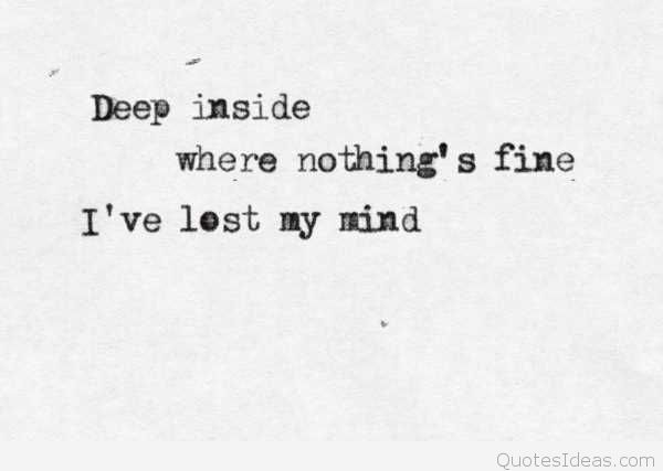 Deep Lost Love Quotes Hover Me