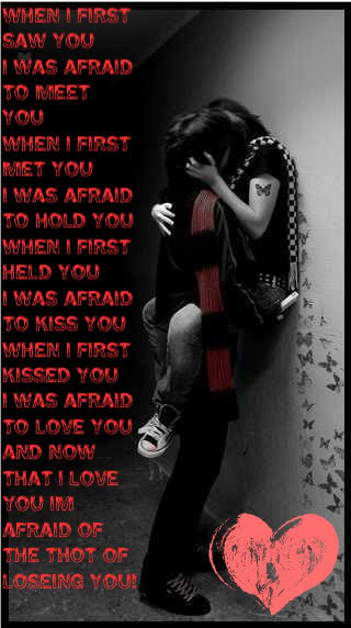 Emo Love Poems And Quotes For Him Best Quote
