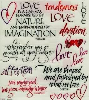 Famous Quotes Love Caption