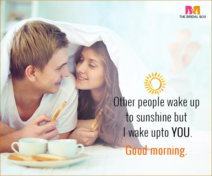 Good Morning Love Quotes For Husband I Wake Up To You