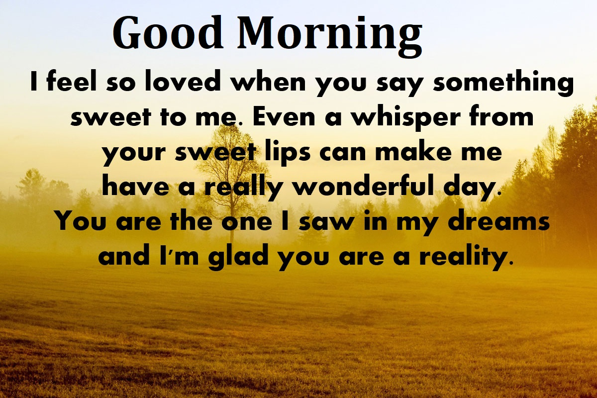 Good Morning Love Quote For Her I Love You Good Morning Messages Good Morning I Love You Quotes