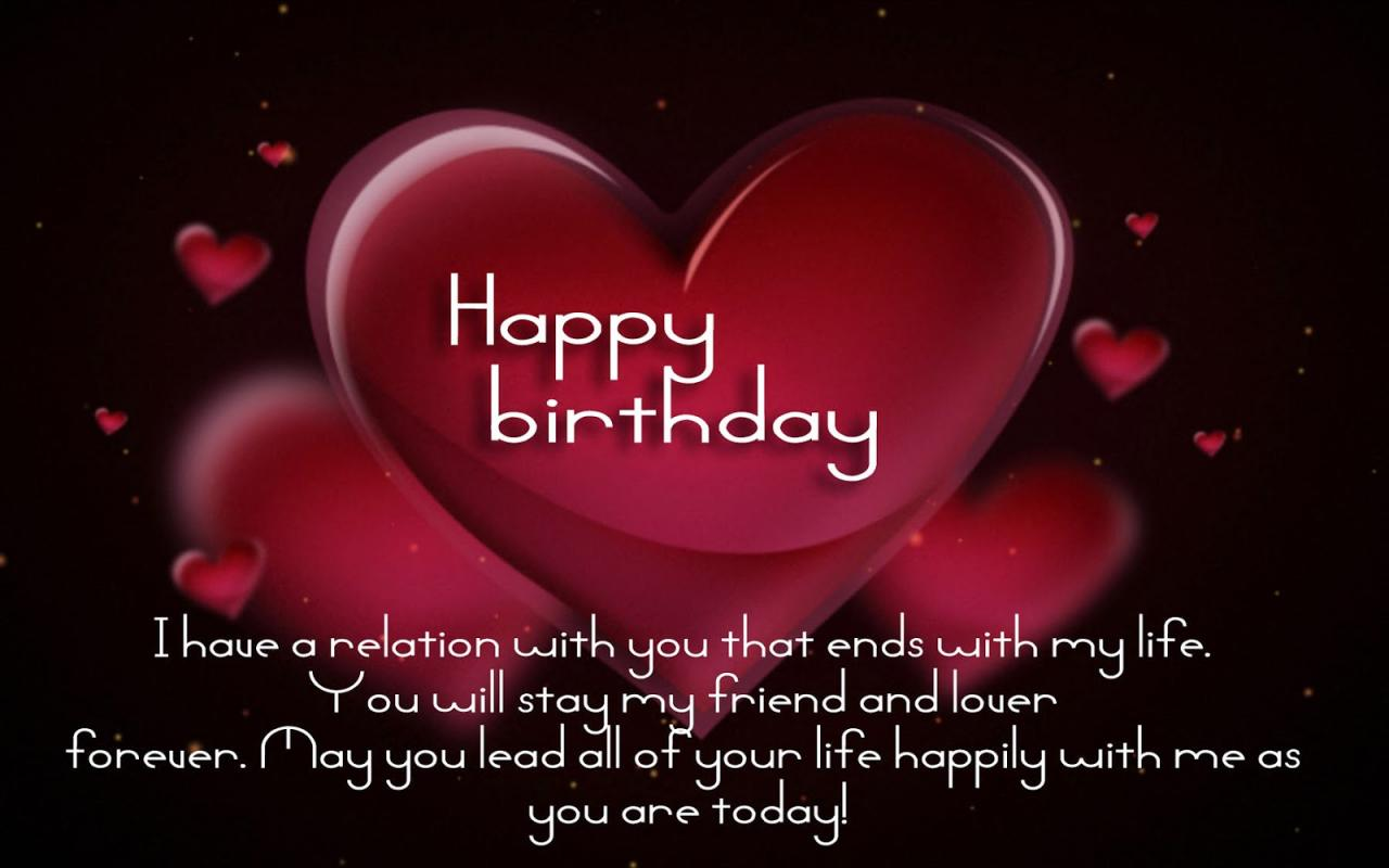 Happy Birthday Love Messages Happy Birthday To My Love