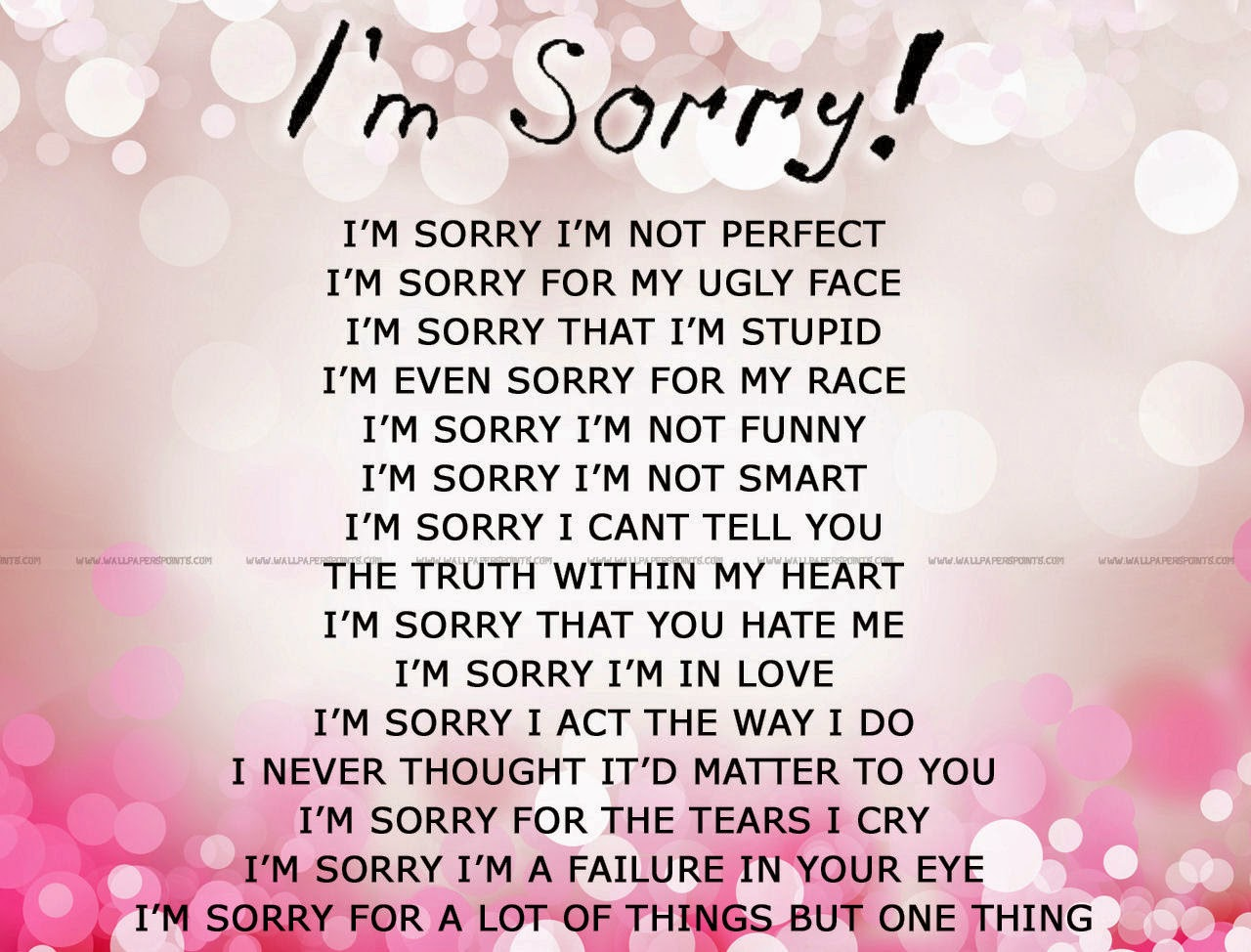 Sorry Love Quotes For Your Boyfriend | Hover Me