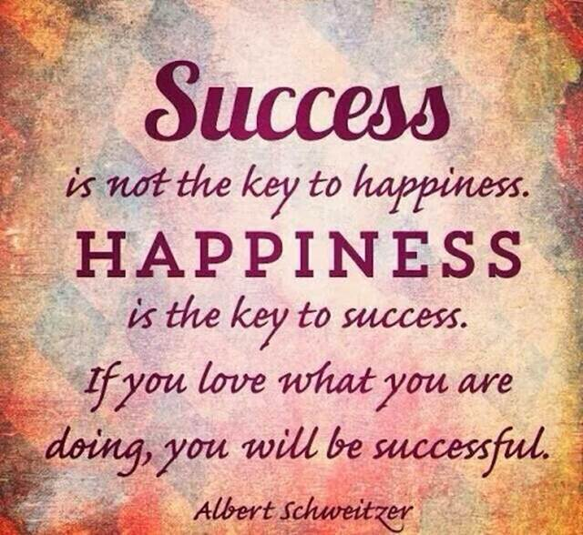 Inspirational Quotes About Success If You Love What You Are Doing Key To Success