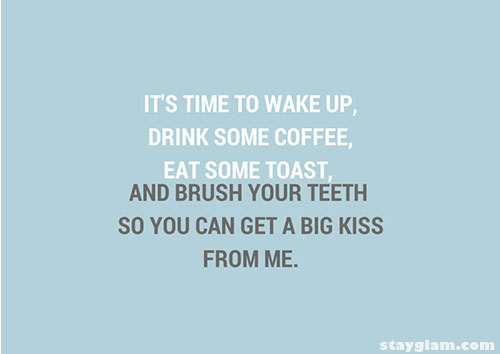 Its Time To Wake Up Quote