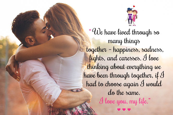 Love Quotes For Wife  With A Wife Like You