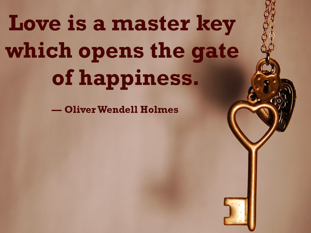 Love Is A Master Key