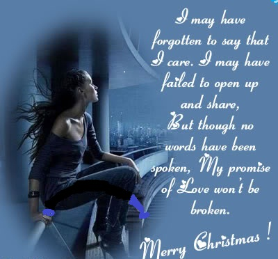 I May Have Merry Christmas Love Quotes