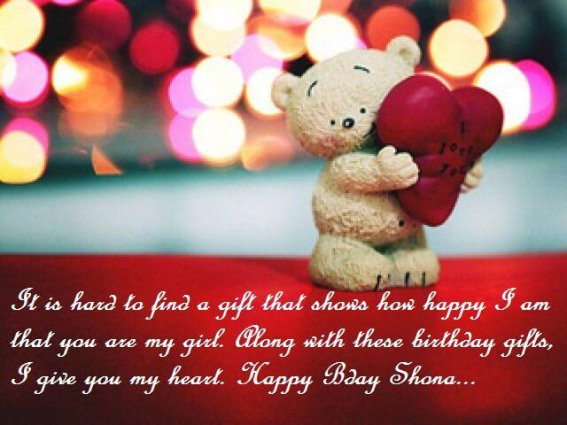 Romantic Birthday Quotes For Shona