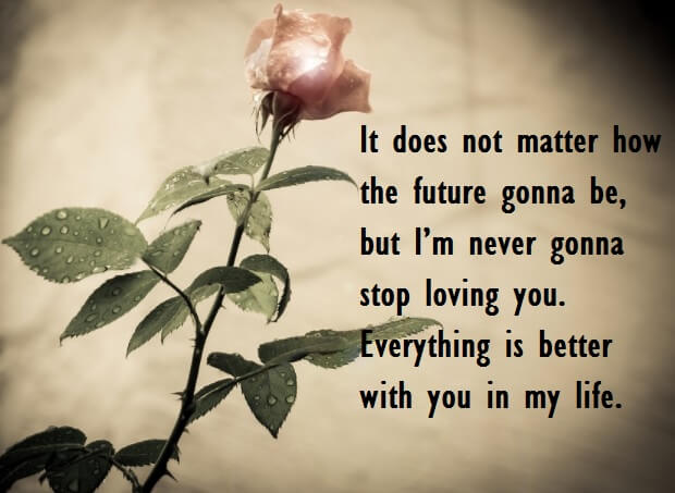 Romantic Love Quotes Wishes For Her
