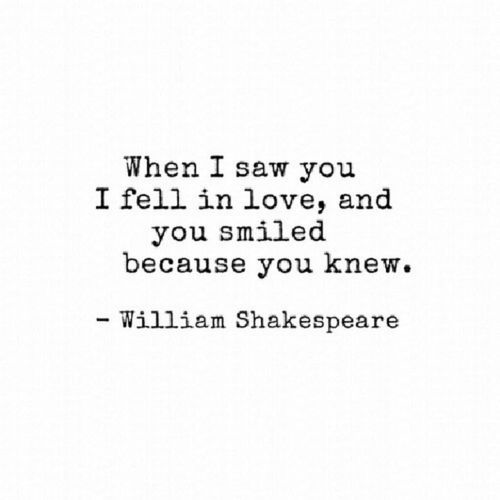 Shakespeare Love Quotes Tumblr