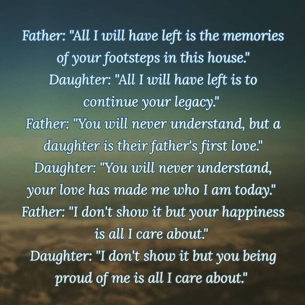 Father Daughter Quotes With Love